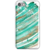 A Flutter of Green iPhone Case/Skin