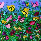 Wild Garden by marlene veronique holdsworth