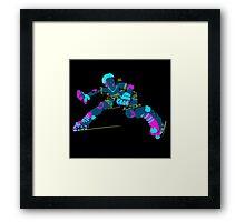 Electric Skater Framed Print