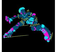 Electric Skater Photographic Print