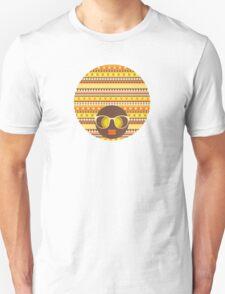 Stripes yellow. Unisex T-Shirt