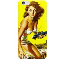 Attack of the 50 foot woman iPhone Case/Skin