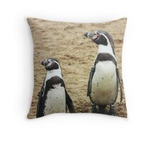 penguins Throw Pillow