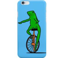 Dat Boi Unicycle Frog T-Shirt iPhone Case/Skin
