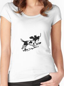 Happy Springer Women's Fitted Scoop T-Shirt