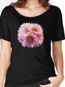 A Bunch of Pink Daisies Women's Relaxed Fit T-Shirt