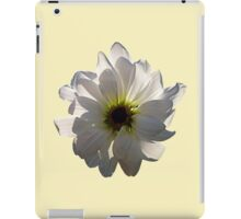 Backlit White Daisy iPad Case/Skin