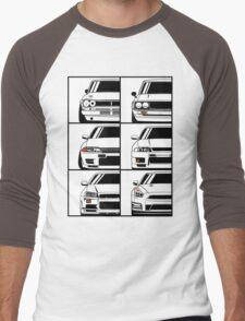 Nissan Skyline. Evolution Men's Baseball ¾ T-Shirt