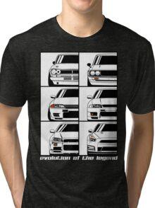 Nissan Skyline. Evolution Tri-blend T-Shirt