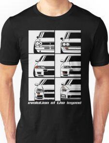 Nissan Skyline. Evolution Unisex T-Shirt
