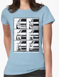 Nissan Skyline. Evolution Womens Fitted T-Shirt