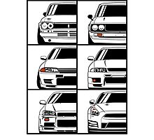 Nissan Skyline. Evolution Photographic Print