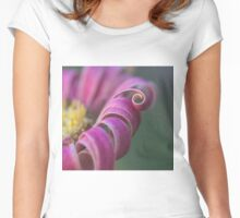 A Little Curl Women's Fitted Scoop T-Shirt