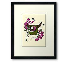 Stereo Monster Framed Print