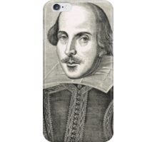 William Shakespeare The Bard of Avon iPhone Case/Skin
