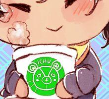Ichu buffet! - Akira Sticker