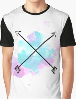 Bisexual Arrow Graphic T-Shirt