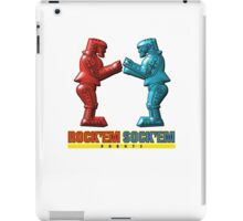 Rock'em Sock'em - 3D Variant iPad Case/Skin