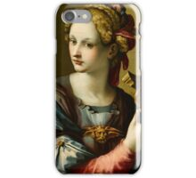 Michele Tosini(Florence ), An Allegory of Fortitude iPhone Case/Skin