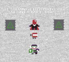 IDTGATT | Joker + Red Hood One Piece - Short Sleeve