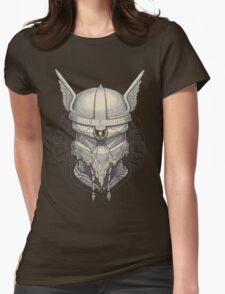Viking Robot Womens Fitted T-Shirt