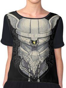 Viking Robot Chiffon Top