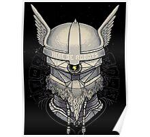 Viking Robot Poster