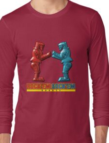 Rock'em Sock'em - 3D Variant Long Sleeve T-Shirt