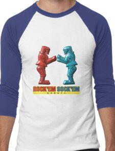 Rock'em Sock'em - 3D Variant Men's Baseball ¾ T-Shirt