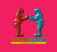 Rock'em Sock'em - 3D Variant Womens Fitted T-Shirt