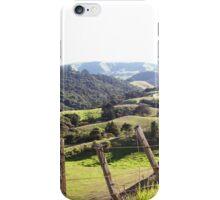 Green Rolling Hills iPhone Case/Skin