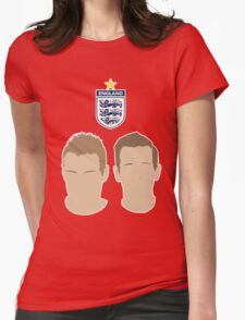 Vardy & Kane - England - EURO 2016 Womens Fitted T-Shirt