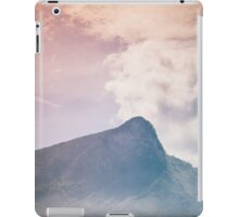Mountains in the background XV iPad Case/Skin