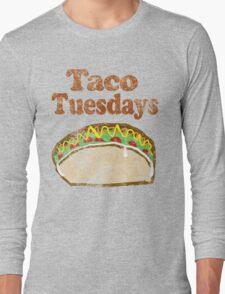 Vintage Taco Tuesday Long Sleeve T-Shirt