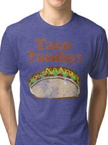 Vintage Taco Tuesday Tri-blend T-Shirt