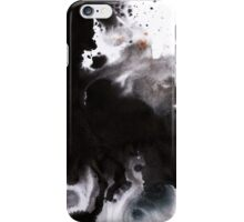 Abyss - Indian Ink & Dye Splatter iPhone Case/Skin
