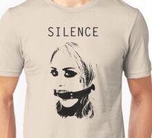 Silence, Mouth Gag. BDSM T-shirt Unisex T-Shirt