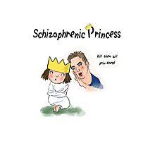 Kids T.V parodies - 'Schizophrenic Princess' Photographic Print