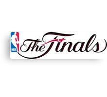 NBA finals Canvas Print