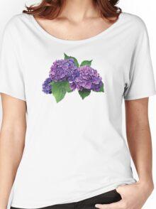 Purple Hydrangea Women's Relaxed Fit T-Shirt