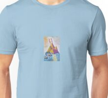 Acrylic Painting - Island Sun Abstract Unisex T-Shirt