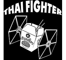THAI FIGHTER - FOOD WARS Photographic Print