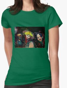 CARNIVAL NIGHT IN VENICE Venetian Masquerade Masks Womens Fitted T-Shirt