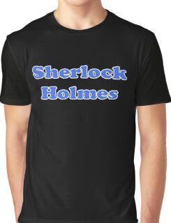 Sherlock Holmes Sticker - Conan Doyle T-Shirt Graphic T-Shirt