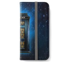Space Traveller Box with 221b number iPhone Wallet/Case/Skin