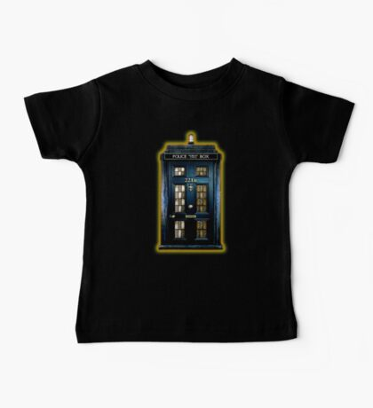 Space Traveller Box with 221b number Baby Tee