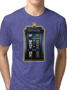 Space Traveller Box with 221b number Tri-blend T-Shirt