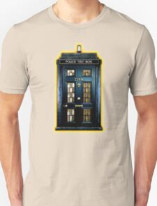 Space Traveller Box with 221b number Unisex T-Shirt