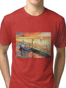 A Delightful Evening Tri-blend T-Shirt