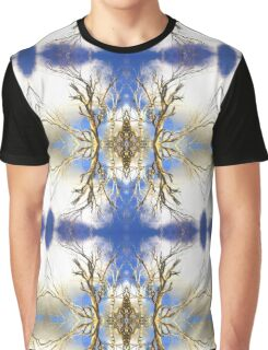 Cloudy Blue Sky Graphic T-Shirt